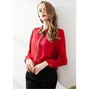 Women's satin shirts_jhmalls